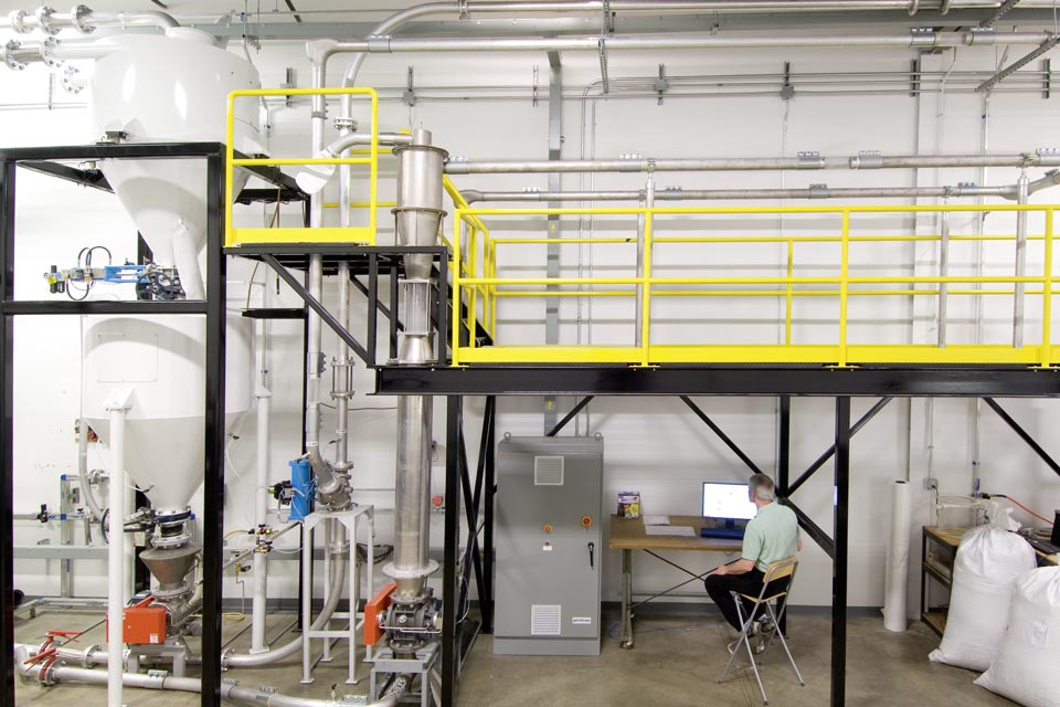 Pneumatic Conveying Attrition Test